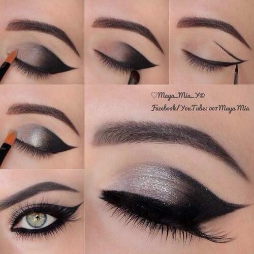 silmämeikki tutorial
